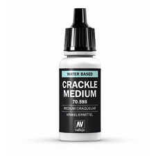 Vallejo Auxiliary: Crackle Medium - VAL70598 17mm Bottle