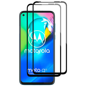 For Motorola Moto G8 / G8 Power Full Coverage Tempered Glass Screen Protector