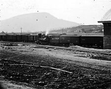New 8x10 Civil War Photo: Train Depot at Lookout Mountain, Chattanooga