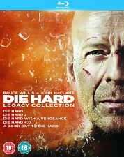 DIE HARD LEGACY COLLECTION BLU RAY 5 DISC BOXSET NEW / SEALED  BRUCE WILLIS