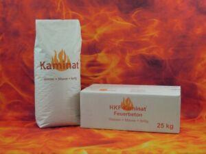 Original Kaminat Feuerbeton Nr. 7N125,  zur Herstellung von Ofenelementen