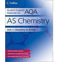 Very Good, Student Support Materials for AQA - AS Chemistry Unit 1: Foundation C
