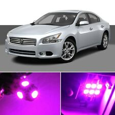 16 x Premium Hot Pink LED Lights Interior Package Kit for Nissan Maxima