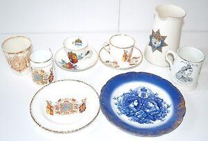 Victoria 1887 Golden 1897 Diamond Jubilee Commemorative Jug Plate Cup & Saucer