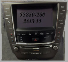 LEXUS IS250  IS350 HDD NAVIGATION RADIO AM FM XM USB  TOUCH SCREEN 2013-13 OEM