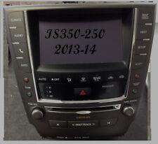 LEXUS IS250  IS350 HDD NAVIGATION RADIO AM FM XM USB  TOUCH SCREEN 2013-13 OEM
