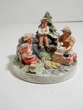 Vintage / Antique Sebastian Miniature, American Remembers Family Picnic, 1979
