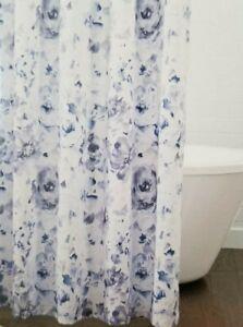 "Croscill Lyla Fabric Shower Curtain 72"" x 72"" NIP"