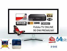POLSKA TELEWIZJA ! BEZ ANTENY i ABONAMENTU ! PREMIUM 90 DNI!! Polska TV Polen TV