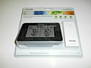 Taylor Precision Wireless Digital Indoor/Outdoor Weather Station NEW + Fast Ship