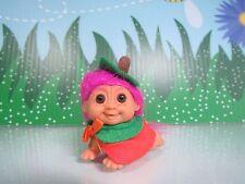 HALLOWEEN CRAWLING PUMPKIN BABY - Russ Troll Doll - VERY RARE