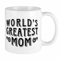 World'S Greatest Mom Mug Funny Birthday Ceramic Mug Coffee Cup Gift For Men W...