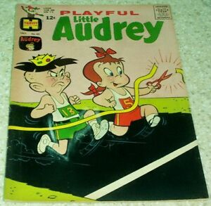 Playful Little Audrey 83, VF- (7.5) 1969 Track and Field cover! 50% off Guide!