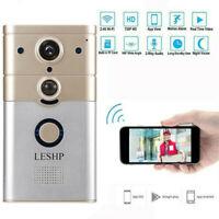 Wireless Smart WiFi DoorBell IR Video Visual Camera Intercom Home Security Kit *