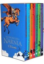 The Chronicles of Narnia Complete 7 Volume Set [Paperback] [Jan 01, 2002] C.S. L