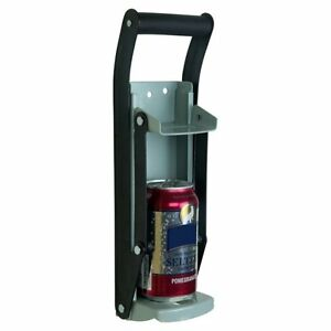 Heavy Duty Aluminum Can Crusher Bottle Opener, up to 16OZ Cans * FREE SHIPPING