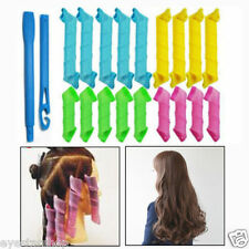 10pcs 20inches Hot Sell Magic Hair Curlers Cheap Spiral Ringlet Rollers Circle