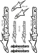 Planche stickers Alpinestars - PL010