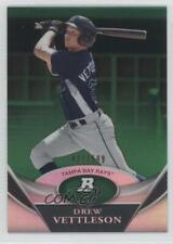 2011 Bowman Platinum Prospects Green /599 Drew Vettleson #BPP60