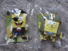 2 große Spongebob Schwammkopf Figuren Pirat Ägypter Burger King Spielfiguren