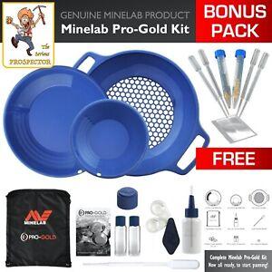 Minelab PRO-GOLD Panning Kit | professional quality | gold prospecting | BONUS!