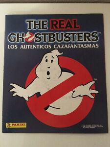 1x Panini Ghostbusters Leeralben Spanische Version 1988