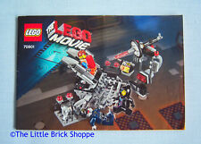 Lego Movie 70801 Melting Room - INSTRUCTION BOOK ONLY - No Lego bricks