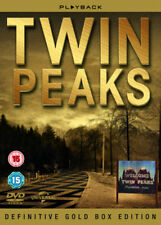 Twin Peaks Complete Definitive Gold Box Edition (DVD, 2012, 10-Disc Set,Box Set)