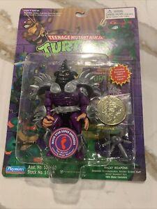 TMNT 1991 Teenage Mutant Ninja Turtles Super Shredder Action Figure MOC Sealed