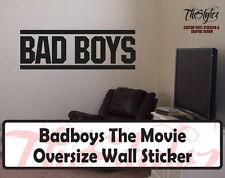 BAD BOYS Custom Movie Wall Vinyl Sticker