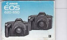 GENUINE ORIGINAL CANON EOS 620 650 FILM CAMERA INSTRUCTIONS MANUAL
