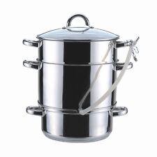 8L Stainless Steel Juice Steamer Juicer Cooker Extractor Induction Fruit Pot Lid