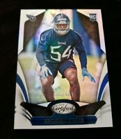 RASHAAN EVANS 2018 CERTIFIED RC /499 TENNESSEE TITANS
