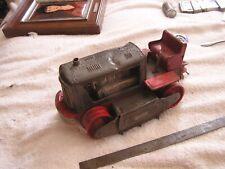 Vintage Nomura Japan Tin Litho Batt Op 1200 Lighted Piston Action Tractor