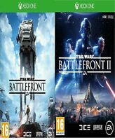 Star Wars Battlefront 1 & 2 II XBOX ONE Bundle  Mint Same Day Dispatch Free Del*