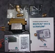 Flow&heat meter,Kamstrup Multical 602,accessories&manual. Original packaging