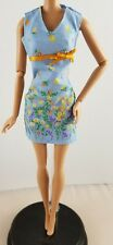 Barbie Doll Pretty Flowers Floral Print Dress Spring Fashion Outfit