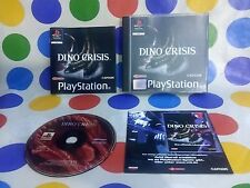 DINO CRISIS - PAL - PSX - deutsch- RARE - SERIOUS OFFERS ARE WELCOME !