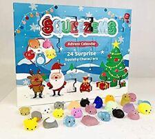 Squeezems Advent Calendar Kids Christmas Xmas 24 Surprise Squishy Toys