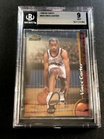 VINCE CARTER 1998 TOPPS #230 ROOKIE RC MINT BGS 9 RAPTORS FUTURE HALL OF FAMER