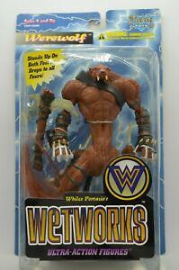 McFarlane Toys Wetworks WEREWOLF Action Figure. 1995 New, Original, Unopened