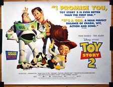 Toy Story 2 1999 Original Quad Film Poster