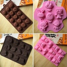 Silicone Cupcake Mold Cookie  Candy  Muffin Chocolate Baking Mould Pan Tools