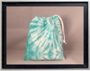 Gymnastics Leotard Grip Bags / Tiffany Blue Tie Dye Gymnast Birthday Goody Bag