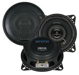 Crunch DSX42 10 cm 2-Wege-Lautsprecher 120 Watt (RMS: 60 Watt)