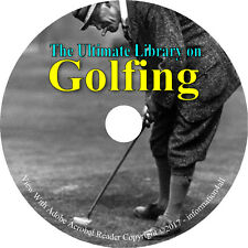 54 Books on DVD – Ultimate Vintage Library on Golf, Spalding Guides, Ball, Club