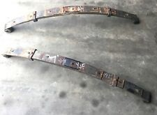 Jeep Yj front leaf springs 4 ply 87-95 Wrangler stock spring