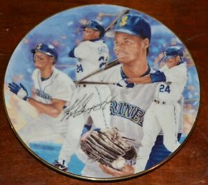 "VERY RARE KEN GRIFFEY, JR. PLATE - 24 ""SEATTLE THUNDER PLATE"" GARTLAN USA # 691"