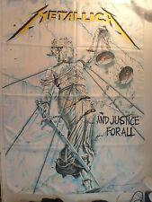 METALLICA  rare TEXTILE POSTER FLAG 1998  metal thrash slayer anthrax lp t shirt