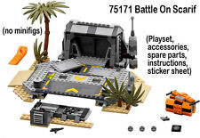 Lego Star Wars Rogue One NEW 75171 Battle On Scarif playset no figs 2017 (SAT-B)